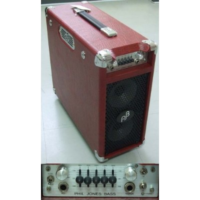 PJB(Phil Jones Bass) BriefCase (Red)
