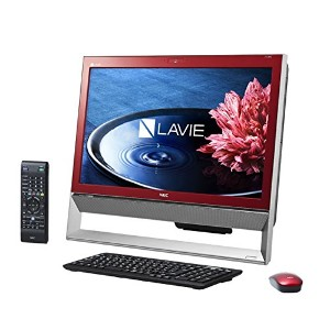 日本電気 LAVIE Desk All-in-one - DA370/BAR クランベリーレッド PC-DA370BAR