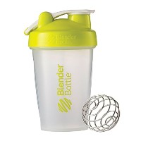Blender Bottle(ブレンダーボトル) Blender Bottle Classic w/Loop 20オンス(600ml) - CLEAR/GREEN [並行輸入品]