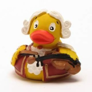 Mozart Rubber Duck - ???????