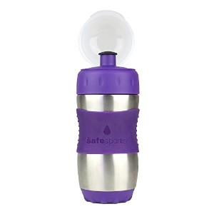 The Safe Sporter Water Bottle 水筒 355ml パープル (並行輸入)