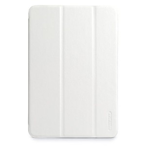 TUNEWEAR LeatherLook SHELL with Front cover for iPad mini (3/2/第1世代) (スノーホワイト) TUN-PD-100054