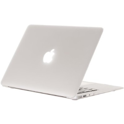 "Kuzy - AIR 13-inch Frost ゴム引きハードケース Case Cover SeeThru for Apple MacBook Air 13.3"" (A1369 and A1466..."