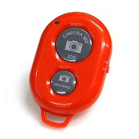 Bluetooth スマートフォン用 カメラリモコン AB Shutter 3 【Red】 ABS3-RED-A