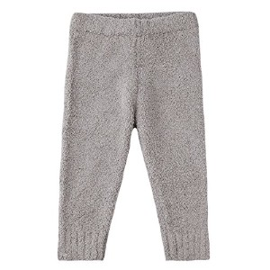 Barefoot Dreams Cozychic Infant Pant [ #657 ] (サイズ:S (6-12m)、カラー:Dove gray) [並行輸入品]