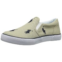 [ポロラルフローレン] POLO RALPH LAUREN BAL HARBOUR REPEAT 91552 KHAKI/NAVY (KHAKI/NAVY/12)
