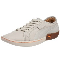 Puma Madison EVO Lace Mens Leather Sneakers / Shoes-White-27