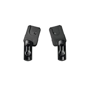 Quinny Buzz Xtra Stroller Replacement Car Seat Adapters, Black by Quinny