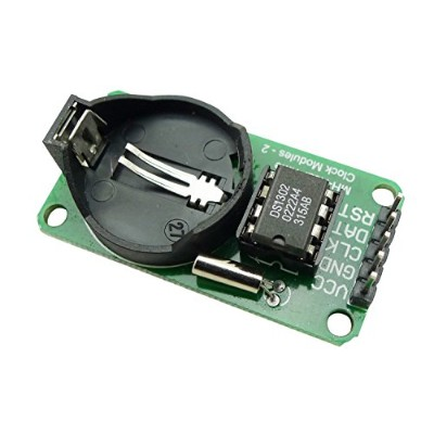 EasyWordMall Arduino AVR、ARM、PIC SMD用 RTC DS1302 リアル タイム クロック モジュール