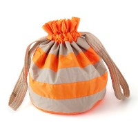 7A.M. ENFANT ROTONDO BAG Neon Orange