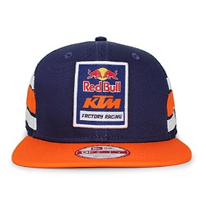 (ニューエラ) NEW ERA RED BULL KTM FACTORY RACING 【STRIPE TRUCKER MESH CAP/NAVY-ORG】 レッドブル [並行輸入品]