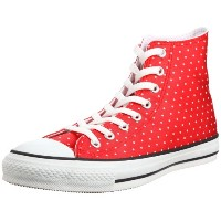 [コンバース] CONVERSE ALL STAR LUSTER-DOT HI 1B781 RD (レッド/8.5)
