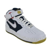 (ナイキ) Nike メンズ 317332-111 AIR FORCE 1 MID SPRM MCO WHITE - 31CM (US 13.0)