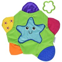 The First Years Star Teething Blanket by The First Years
