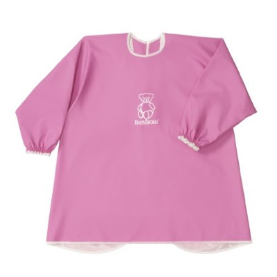 BABYBJORN Eat & Play Smock - Pink by BabyBj?rn
