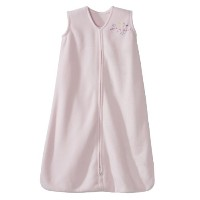 HALO SleepSack Micro-Fleece Wearable Blanket, Soft Pink, Large by Halo