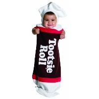 Tootsie Roll Baby Bunting Infant Costume トッツィーロールベビーバンティングの幼児のコスチューム サイズ:Infant(3-9months)