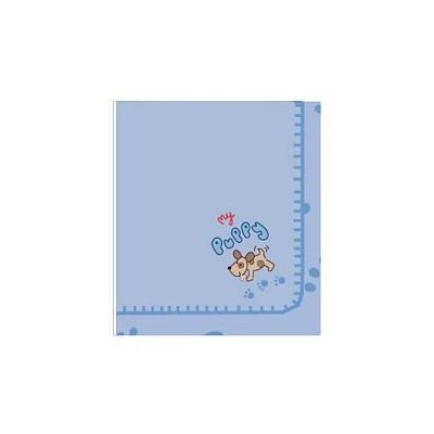 Koala Baby 2-ply Embroidered Fleece Blanket - Puppy by toysrus