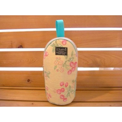 Ehako*・・feeding bottle Case CHERRY YELLOW
