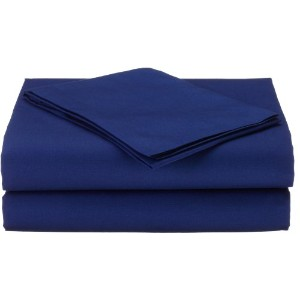 American Baby Company 100% Cotton Percale Toddler Bedding Sheet Set, Royal, 3 Piece by American...