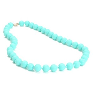 Chewbeads Juniorbeads Jane Jr. Necklace - Turquoise by Chewbeads