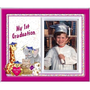 My First Graduation - Friends Back to School Picture Frame Gift by Expressly Yours! Photo Expression...