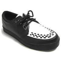 (ティ.ユー.ケイ. シューズ)T.U.K. SHOES CREEPER SNEAKER BLACK x WHITE#A6092-US11/29cm