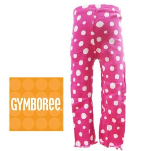 GYMBOREE(ジンボリー)ドット柄レギンス2才(ピンク×ホワイト) [Baby Product] [Baby Product]