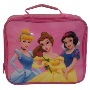 Disney Princess Pink Insulated School Lunch Carry Bag Bn by Disney