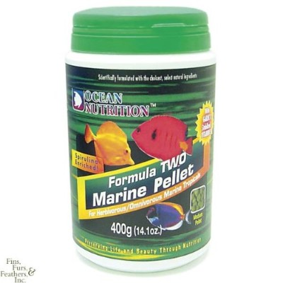 Soft & Moist Form 2 Marine medium Pellet 400gm by Ocean Nutrition