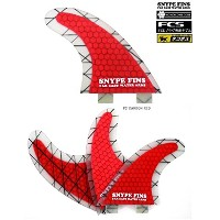 SNYPE FINS/スナイプフィン ハニカムコア(P2HEX-LITExCARBON)P2RED FCSカーボンフィン