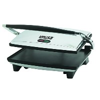 【並行輸入】IMUSA, GAU-80102, Electric Panini and Sandwich Maker, Nonstick Panels サンドウィッチメーカー