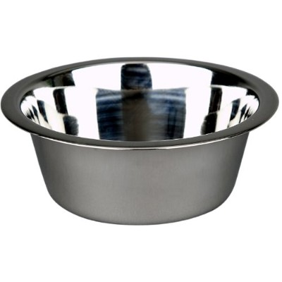 Advance Pet Products Stainless Steel Feeding Bowls, 2-Quart by Advance Pet Products