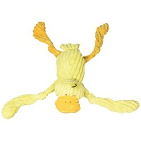 """Multipet Corduroy Critter Soft Cuddly Squeaks Sounds Interactive Fun Dog Toy 9"""""""