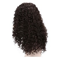 Zhhlinyuan 良質 Women Heat Resistant Synthetic Hair Wigs Fashion Long Curly WL921