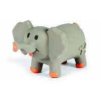 Charming Pet Lil Roamers Pet Squeak Toy, Large, Elephant by Charming