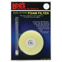 Lee's Round Dual-Action Foam Filter, Fits up to 5-Gallon by Lee