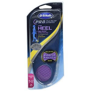 海外直送肘 Dr. Scholls Orthotics - Heel Pain Relief - Women's Sizes 5-12, 1 pair