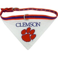 Mirage Pet Products 301-04 BD-LG Clemson Tigers Bandana Large