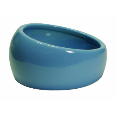 Living World Ergonomic Dish, Blue, Small by Living World