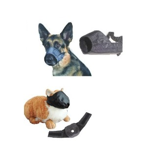 Dog and Cat Grooming Muzzles, Groomers Muzzle Set by Downtown Pet Supply by Pet Supply City, LLC