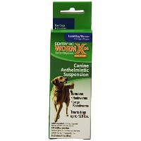 Sentry HC WormX DS Liquid Dog Dewormer, 2-Ounce by Sentry