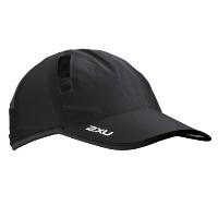 (ツータイムズユー)2XU Run Cap UR1188f  Black/Black Free