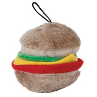 Aspen Pet Products Bite Hamburger Soft Toy, Medium by Petmate