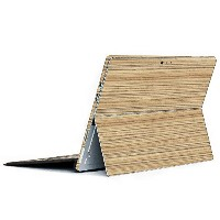 wraplus for Surface Pro / Pro 4 【ゼブラウッド1】 スキンシール 側面 背面 カバー フィルム 保護 ケース