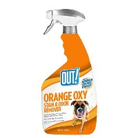 Simple Solution Orange Out! Extract Oxy-Fast Stain & Odor Remover for Dogs 32oz