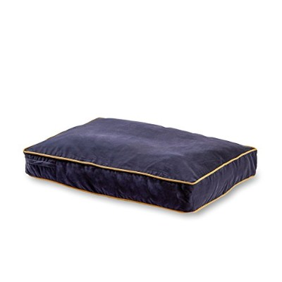 Buster Dog Bed, 18 by 24-Inch Extra Small, Denim blue by Happy Hounds