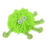 Multipet Sea Shammie 6-Inch Plush Octopus Dog Toy, Green by Multi Pet