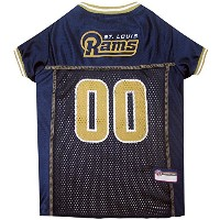 Pets First SLRJ-L St. Louis Rams NFL Dog Jersey - Large