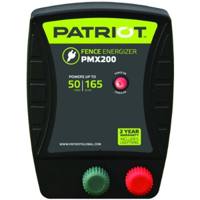 Patriot PMX200 Electric Fence Energizer, 2.0 Joule by Patriot